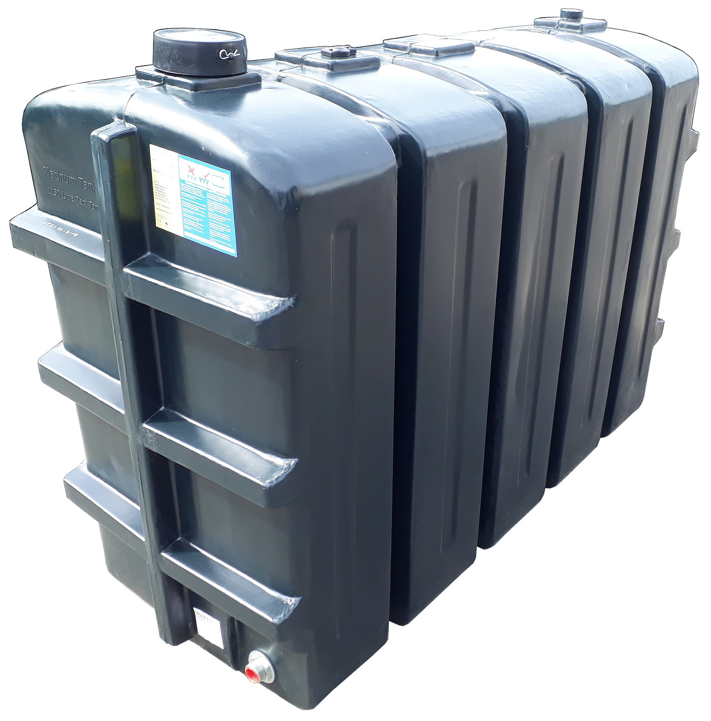 1150 Litre Rectangular Oil Tank Image