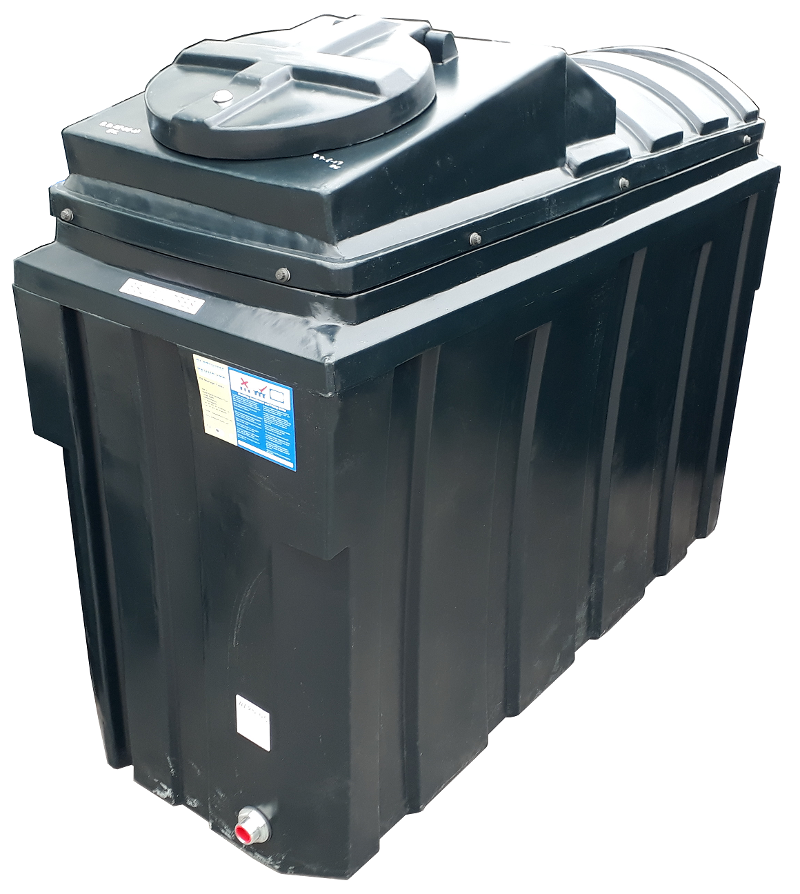 Bunded 1000 Litre Rectangular Oil Tank Image