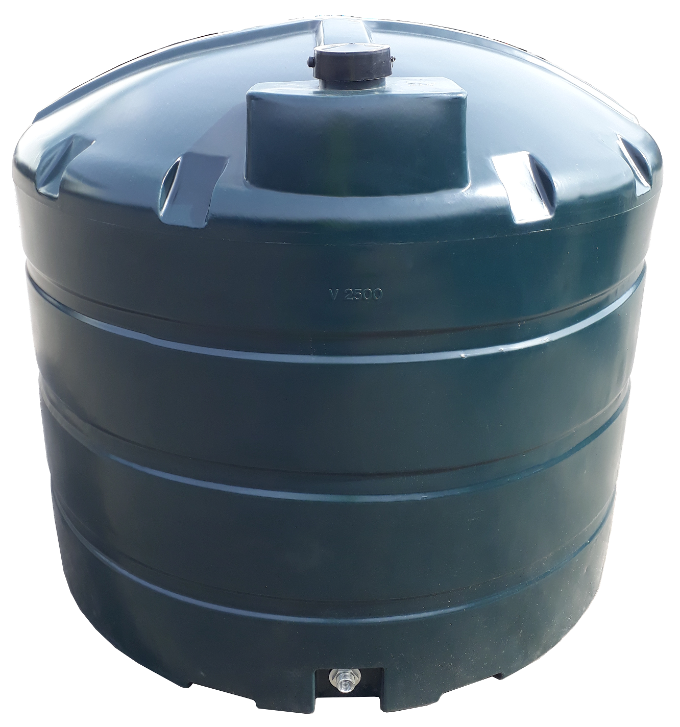 2500 Litre Vertical Oil Tank Image