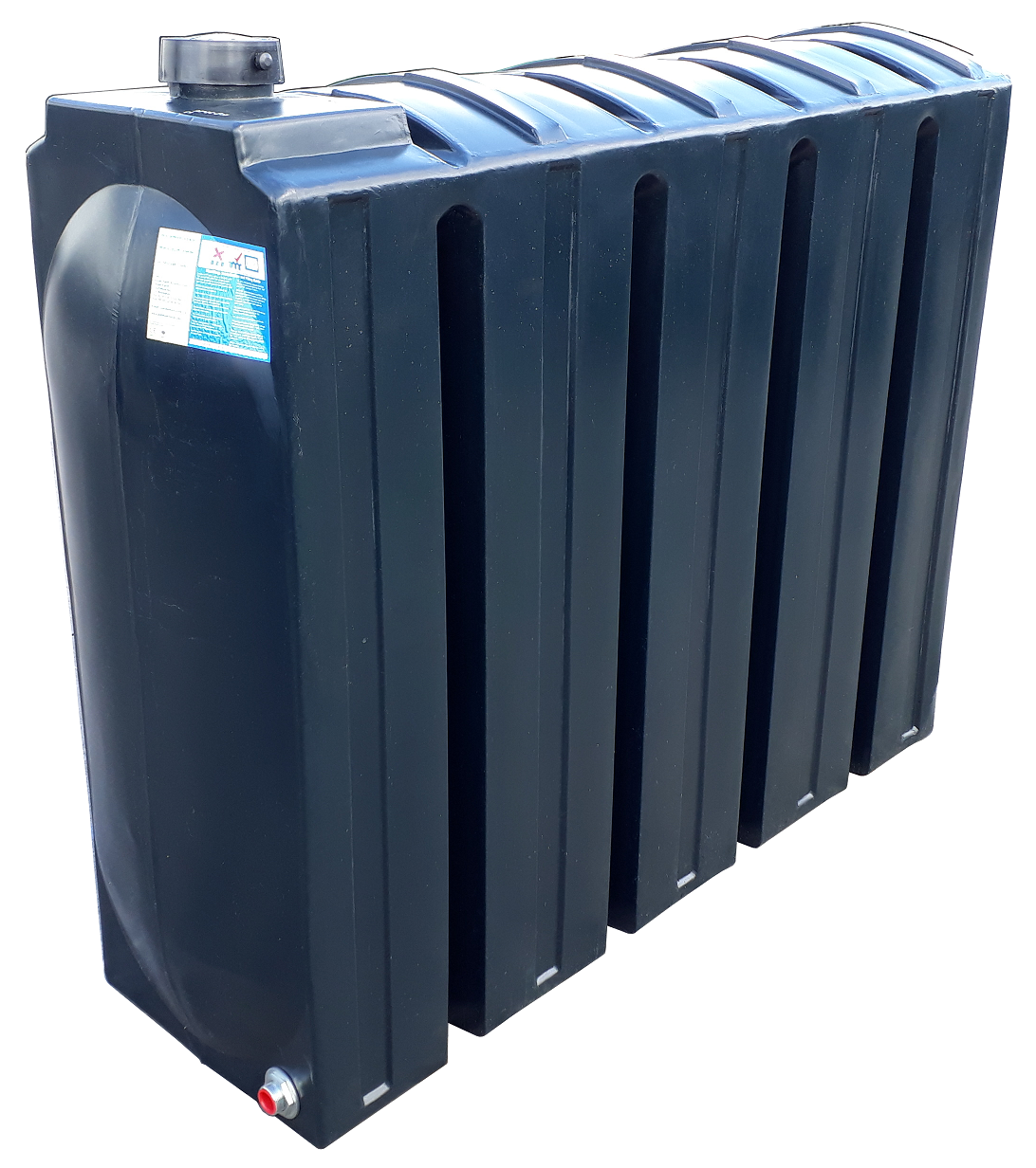 1000 Litre Rectangular Oil Tank Image