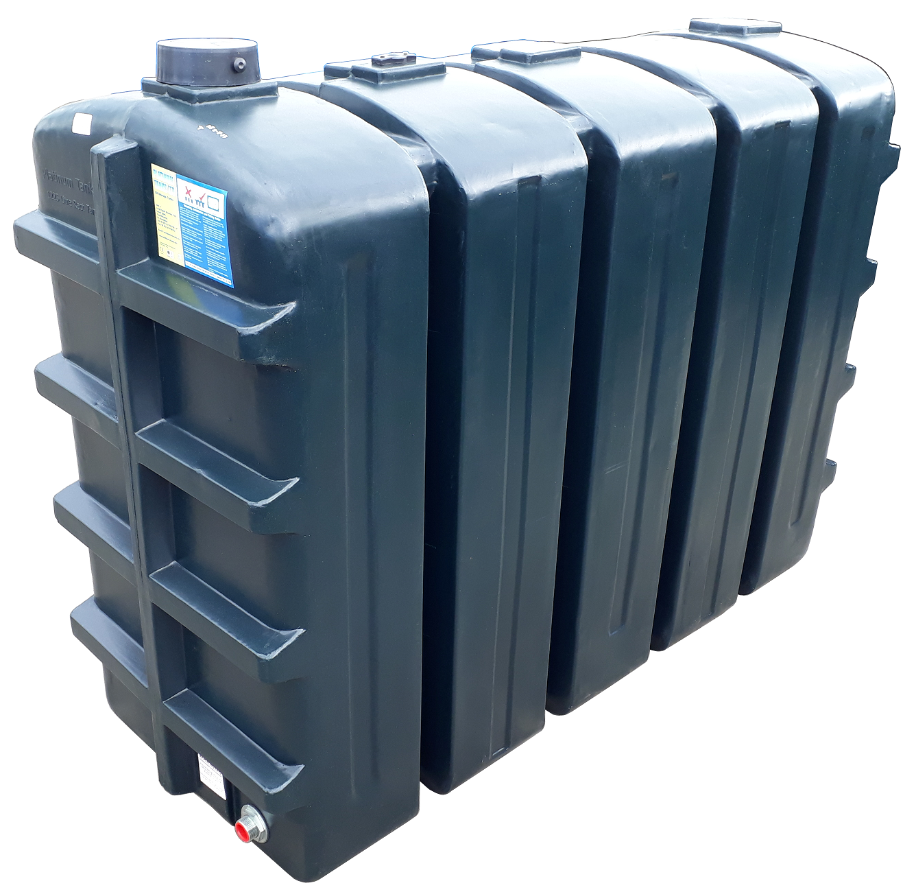1250 Litre Rectangular Oil Tank Image