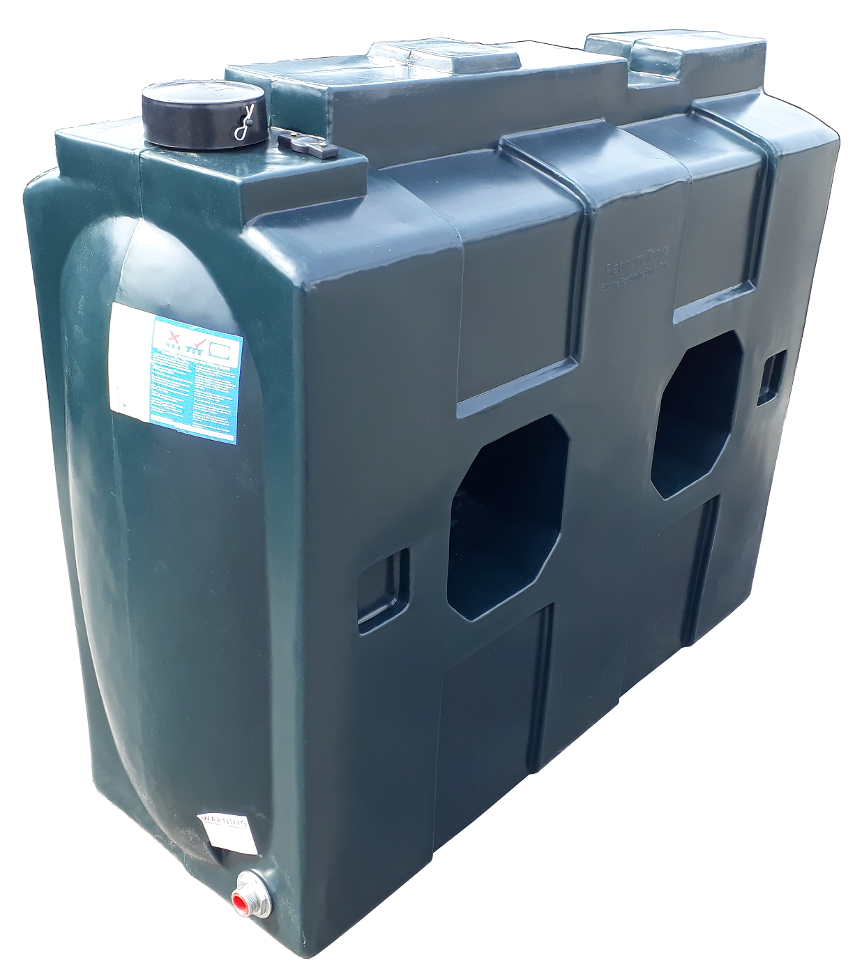 650 Litre Rectangular Oil Tank Image