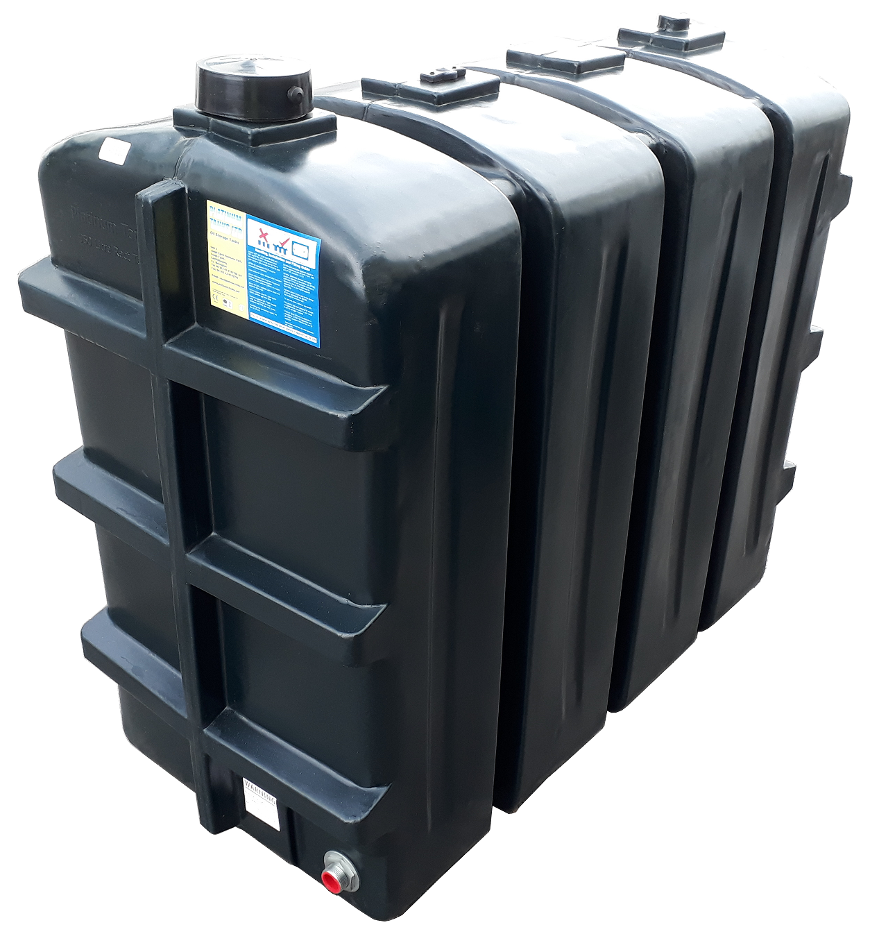 950 Litre Rectangular Oil Tank Image