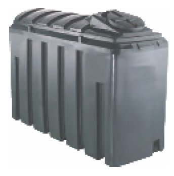 Bunded 1250 Litre Rectangular Oil Tank Image