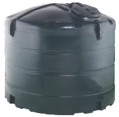 Bunded 5000 Litre Vertical Oil Tank Image